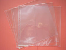 "12"" Square Clear Acid Free Scrapbook Pockets 10 pack"
