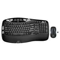 Logitech MK550 Wireless Wave Combo K350 Keyboard & M510 Mouse