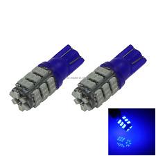 2x Blue RV T10 W5W Reverse Light Backup Bulb 42 1206 SMD LED A049