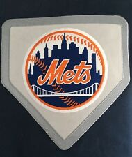 NEW W/defects POTTERY BARN TEEN MLB NEW YORK METS PATCH DUVET FULL/QUEEN NAVY