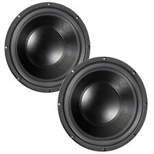 "Pair Eminence LAB 15 15"" Pro Sub Woofer 6 ohm 88.5dB 3"" VC Replacement Speaker"