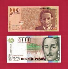 Argentina 3 Note Set: 5 10 /& 20 Pesos p360 /& p361 UNC 2015-17 - p359