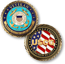 NEW USCG U.S. Coast Guard Veteran Challenge Coin.