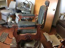 antique koken barber chair