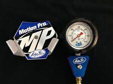 Motion Pro Tire Pressure Gauge WITH HOLDER 0-60 psi analog