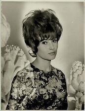 Photo Jacques Blot - Valérie Lagrange 1965 - Arty Show - Surimpression -