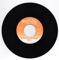 """ANGEL Break Out The Tears / Soothe You  MODERN SOUL 45 (REAL SIDE)  7"""" VINYL"""