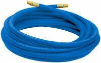 Air Compressor Hose 25 ft. 1/4 in. NPT Pipe Fittings Reinforce PVC 300 PSI New