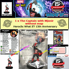 HEROCLIX MARVEL WHAT IF? OP KIT  - The Captain with Mjonir (without map) 15 th