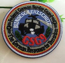 German Bundesgrenzschutz Grenzschutz-Gruppe 9 BORDER POLICE GROUP SPECIAL patch
