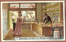 Items In A 1600s Tin Goods Shop 1920s Trade Ad Card