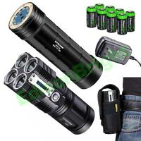 Nitecore TM26 4000 lumen Tiny Monster LED Flashlight w/ NBP52 rechargeable pack