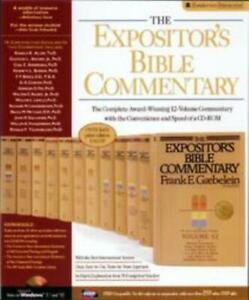 The Expositor's Bible Commentary PC CD complete NIV text, notes, articles Greek+