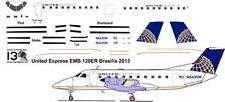 United Express EMB 120 final livery decals for Welsh 1/144 kit