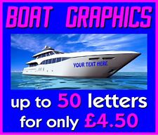 Self Adhesive Vinyl Lettering - Boat Graphics - Car Graphics - Wall Graphics -