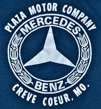 Vintage 70s 1970s PLAZA MOTOR COMPANY MERCEDES BENZ T SHIRT Automotive USA S