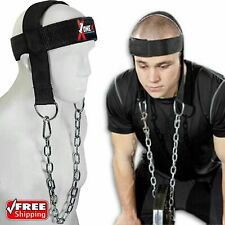 Weight Lifting Trainer Head Harness Neck Exercise Training Dipping Neack Guard