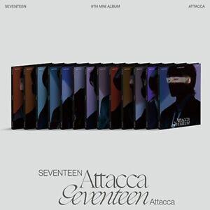 SEVENTEEN 9th Mini Album [Attacca] CARAT Ver CD+Binder+Booklet+8p Lyric+4p Card