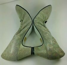 Werner Kern Tanzsport Leather Dance Shoes Sz 7 Made In Italy