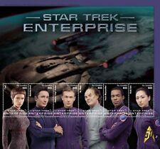 Gambia - Star Trek - Enterprise, Sheet of 6 stamps - 2016 MNH