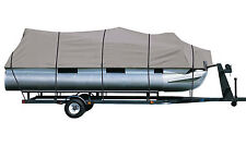 DELUXE PONTOON BOAT COVER Crest Family Fish R
