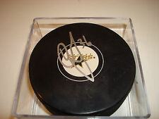 Cameron Gaunce Signed Dallas Stars Hockey Puck Autographed a