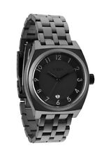 AUTHENTIC NIXON MONOPOLY BLACK/GUNMETAL WATCH A325 1062 NEW IN BOX A3251062