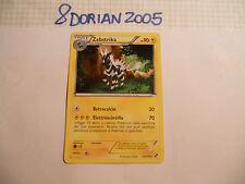 POKEMON CARDS: 1x TCG Zebstrika-Nero & Bianco-Rara-43/114-ITA Italiano x1