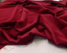 Quartier Gras (46 x 54 cm) 50x60 cms- Rouge Bordeaux Velours D'ameublement par