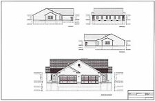 Full Set of Condominium / Duplex building plans 1,376 sq ft