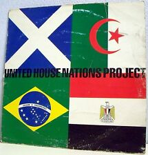 33T UNITED HOUSE NATIONS PROJECT Disque LP Compilation