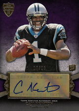 Cam Newton 2011 Topps Supreme RC Auto #17/25 Panthers FREE SHIP