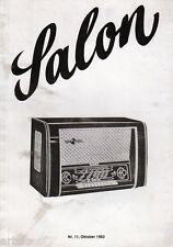 SALON n° 11  Oktober 1983
