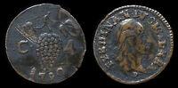 pci1144) Napoli Regno Ferdinando IV  4 Cavalli 1790