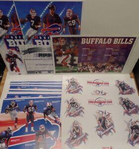 Buffalo Bills lot of 60+ Advertisement Posters 17x11 Xerox 2000's
