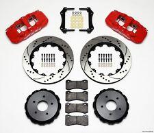 "1997-2013 Corvette C-5 & C-6 Wilwood Aero4 Rear Big Brake Kit With 14"" Rotors"