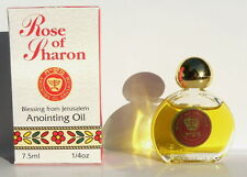 Rose of Sharon Anointing Oil 7.5ml From Holy Land of The Bible,Galilee,Jerusalem