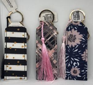 Lipstick/lip Balm Holder Keychains