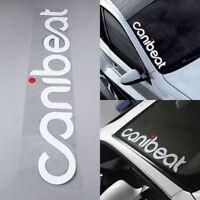 CANIBEAT Hellaflush Car Styling Front Windshield Window Decal Decoration Sticker