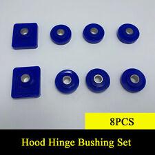 8pcs Hood Hinge Pivot Poly Bushing Cab 2 Square & 6 Round Set for Peterbilt 379
