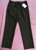 ACNE STUDIOS Men's Black Wool Mohair Trousers Size UK 38 EU 54 New With Tags
