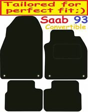 Deluxe Quality Car Mats for Saab 9-3 Convertible 02-10 ** Tailored for Perfect f
