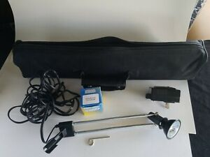 LED Display Light  telescopic Lamp for Retractable RollUp Banner w/carrying case