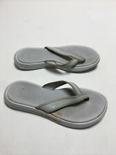 Nike 882698 003 Celso Gray Thong Womens Flats Flip Flops Sandals Shoes Sz. 7