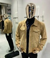 Brunello Cucinelli Suede Jacket sizes 50  (100% Authentic&New)