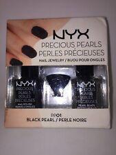 NYX Precious Pearls Nail Jewelry BLACK PEARL PP01 Nail Polish