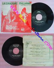 LP 45 7'' CLAUDIO VILLA Luna rossa Addio sogni CANZONE ITALIANA 41 no cd mc dvd