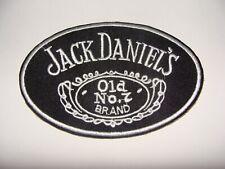JACK DANIELS ovale PATCH ECUSSON THERMOCOLLANT  ROCK BIKER