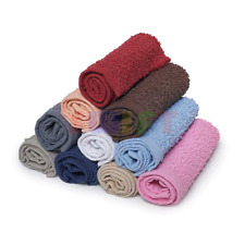 6 Pack Home Collection 100% Cotton Washcloth 11x11 Inches Hotel Cleaning Hands
