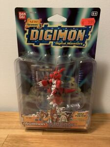 Digimon Guilmon Action Feature Figure Season Three Bandai New Sealed